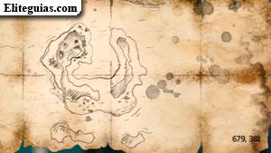 Mapa del tesoro de la Flota de Kenway 1