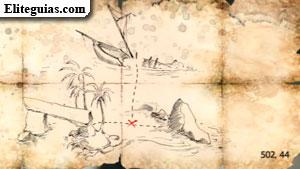 Mapa del tesoro de la Flota de Kenway 2