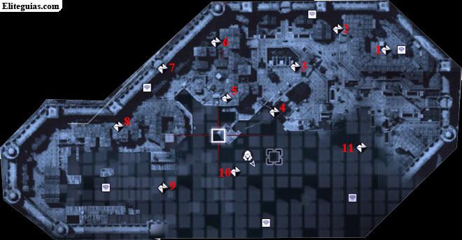 Mapa Arsenal - Fragmentos de datos