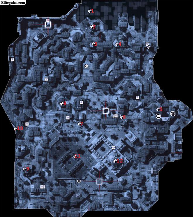 Mapa Beyazid Norte - Fragmentos de datos