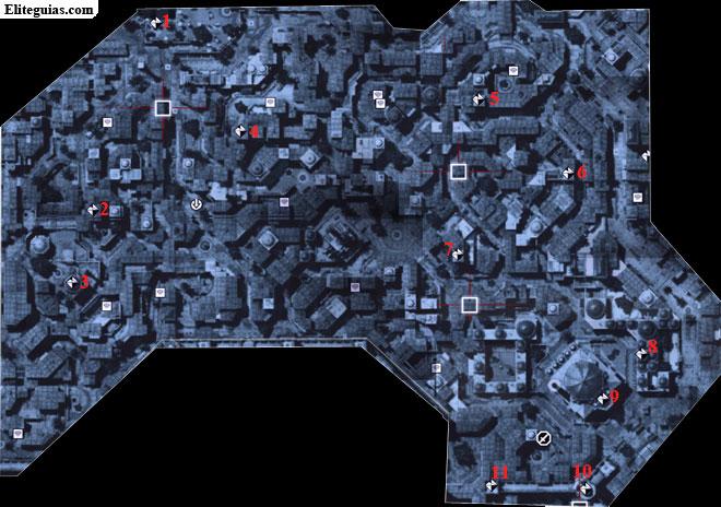 Mapa Beyazid Sur - Fragmentos de datos