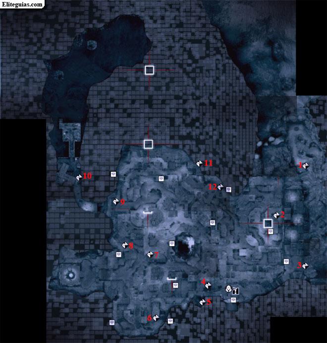 Mapa Capadocia - Fragmentos de datos