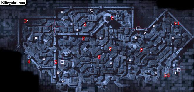 Mapa Gálata - Fragmentos de datos
