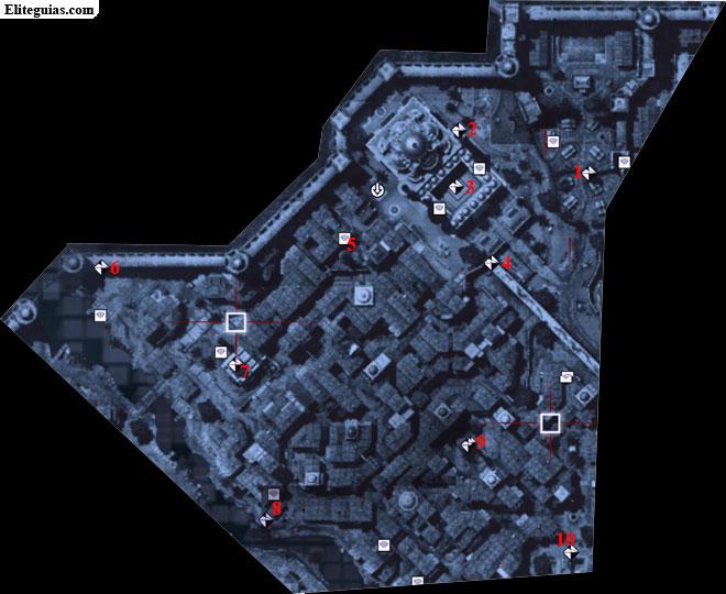 Mapa Norte Constantino - Fragmentos de datos