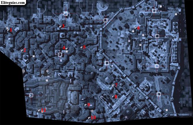 Mapa Norte Imperial - Fragmentos de datos
