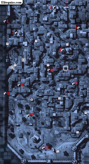 Mapa Sur Constantino - Fragmentos de datos