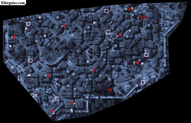 Mapa Sur Imperial - Fragmentos de datos