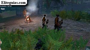 Liberar aldeanos en la aldea