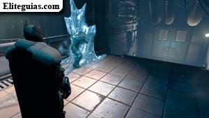 Víctima en el hielo
