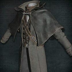 Atuendo de cazador con capa