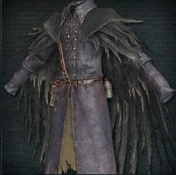 Atuendo de plumas de cuervo