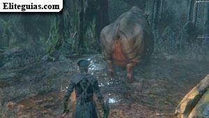 Cerdo gigante en el Bosque Prohibido