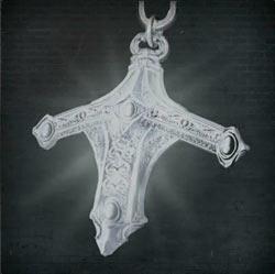 Insignia de cazador con espada radiante