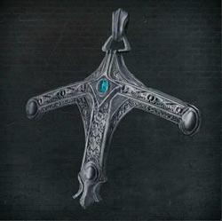 Insignia de cazador con espada