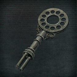 Llave de la torre del reloj astral