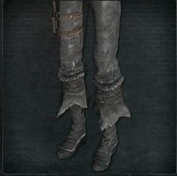 Pantalones de cazador cenicientos