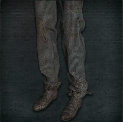 Pantalones de estudiante
