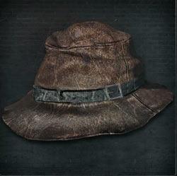 Sombrero arrugado de Yharnam