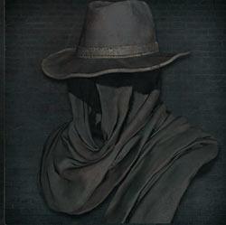 Sombrero de Iglesia negro