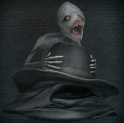 Sombrero de mensajero negro