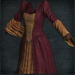 Vestido de noble