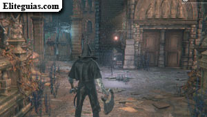 Lámpara de Yharnam Central