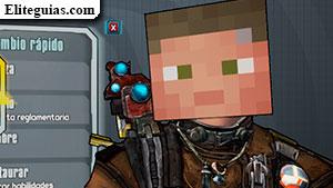 Cabeza Minecraft