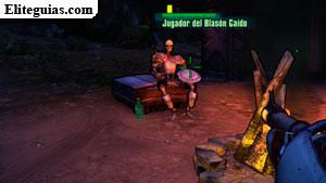Jugador del Blasón Caído