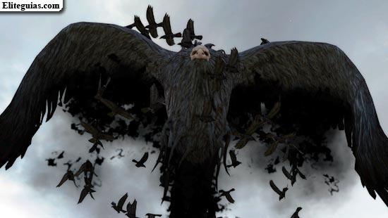 Bruja de cuervos Malphas