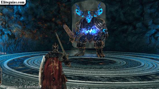 Demonio de Fundición (azul)
