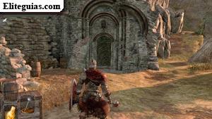Entrada a la Torre de la Llama de Heide