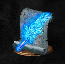 Arma mágica de cristal