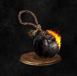 Bomba inc. negra de cuerda
