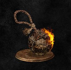 Bomba incendiaria de cuerda