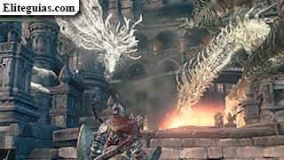 Dragones en el Castillo de Lothric