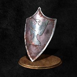 Escudo de águila de plata