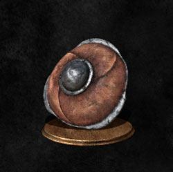 Escudo de cuero pequeño