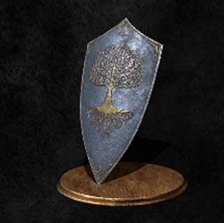 Escudo de emblema árbol espiritual