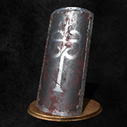 Escudo de hierro negro