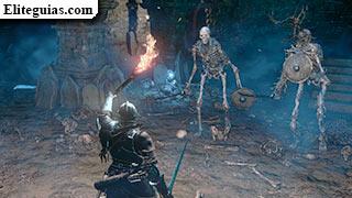 esqueletos en la cripta