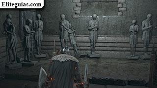 estatuas en la iglesia de Yorshka
