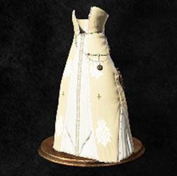 Falda anticuada