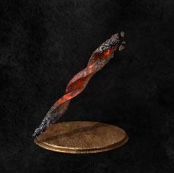 Fragmento de espada en espiral