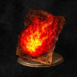 Gran orbe de fuego del caos