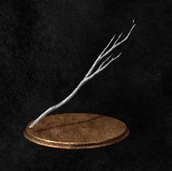 Rama blanca joven / Joven rama blanca