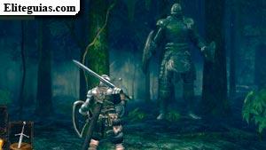 Caballero gigante del Jardín Tenebroso