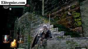 Niveles inferiores del Burgo de los no muertos
