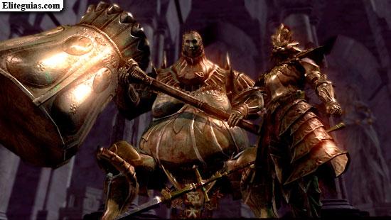 Ornstein el Asesino de dragones y Smough el Verdugo