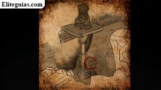 Boceto de Ailsa de los Caminos de las Profundidades