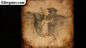 Boceto: la tumba del Coloso